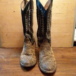 Mens DELTA cowboy boots